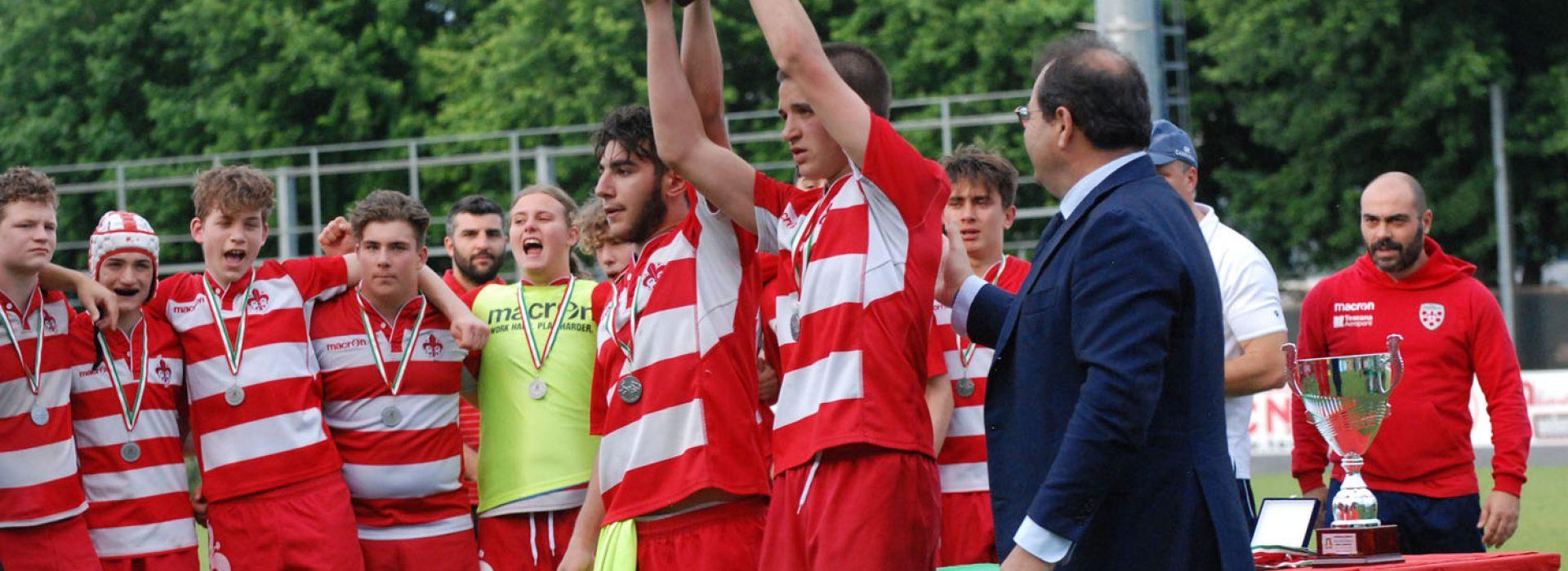 Firenze Rugby 1931 U16: vicecampioni d'Italia!