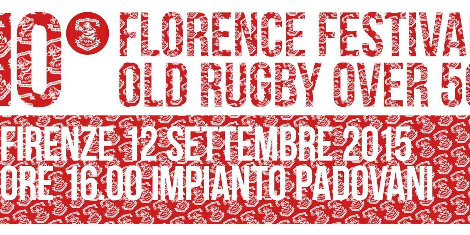 Al Mario Lodigiani il Florence Festival Old Rugby Over 50