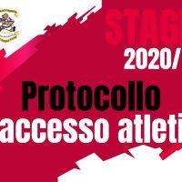 Protocollo di accesso per gli atleti